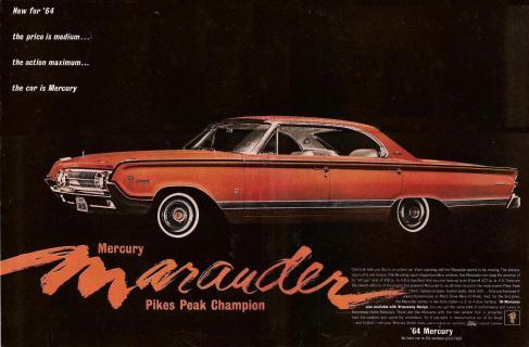 Mercury Park Lane Marauder 1964
