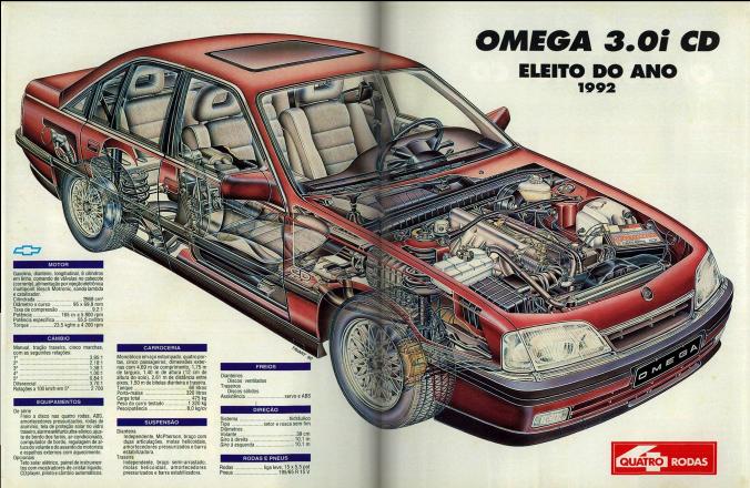 Tem coisa aí que é difícil de ver em muito carro moderno.