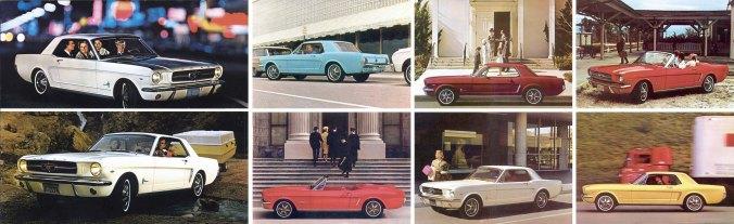 Tinha Mustang para todos os gostos