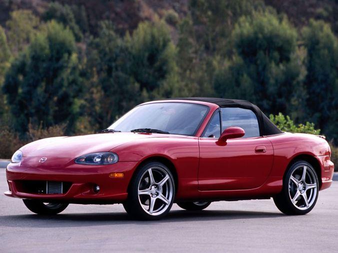 O Miata Mazdaspeed é por enquanto o Miata de produção mais rápido já feito